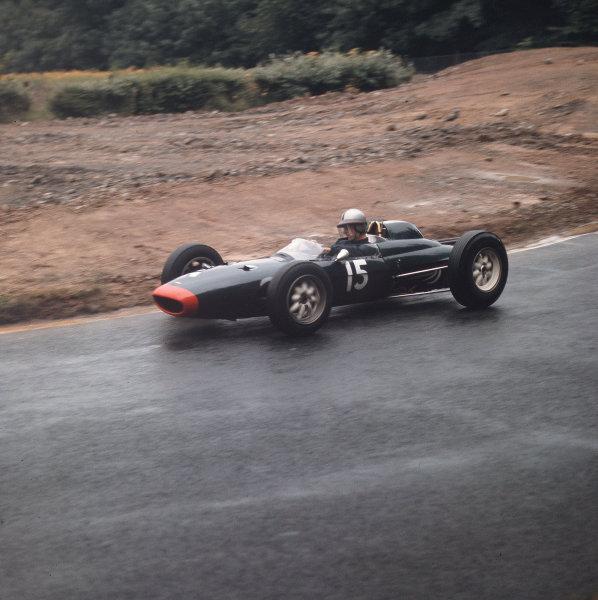 Nurburgring, Germany.3-5 August 1962.Roy Salvadori (Lola Mk4 Climax).Ref-3/0637.World Copyright - LAT Photographic