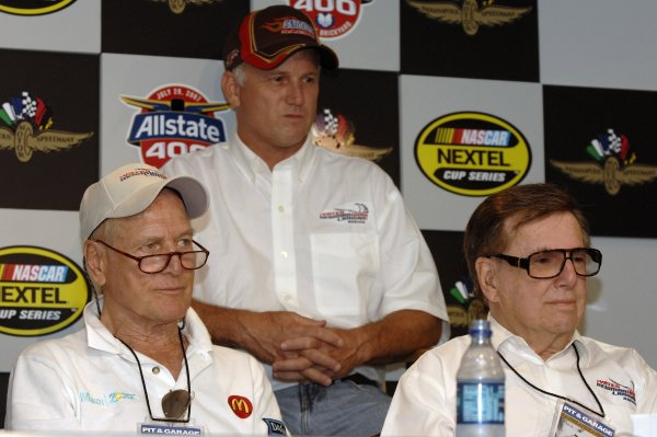 27-29 July, 2007, Indianapolis, Indiana USAPaul Newman, Ricky Rudd and Carl Haas. ©2007, LAT South, USALAT Photographic