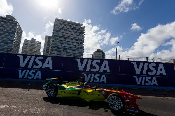 2015/2016 FIA Formula E Championship. Punta del Este ePrix, Punta del Este, Uruguay. Saturday 19 December 2015. Daniel Abt (GER), ABT Audi Sport FE01. Photo: Zak Mauger/LAT/Formula E ref: Digital Image _L0U8625