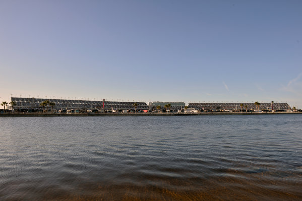 19-20 February, 2016, Daytona Beach, Florida, USA General View of the grandstands at Daytona International Speedway. ?2016, John Harrelson / LAT Photo USA
