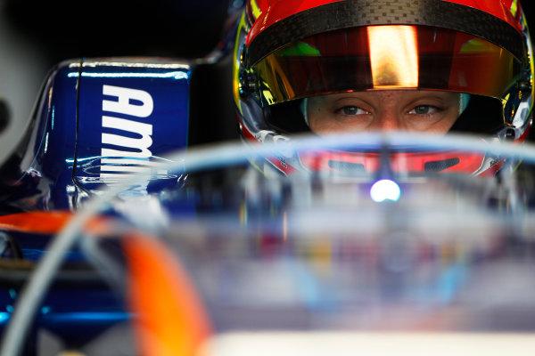 FIA Formula E Test Day, Donington Park, UK. Tuesday 25 August 2015. Robin Frijns (NLD), Andretti - Spark SRT_01E  Photo: Sam Bloxham/FIA Formula E/LAT ref: Digital Image _G7C8210