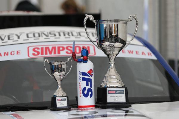 2017 Ginetta GT4 Supercup, Donington Park, 15th-16th April 2017 Daniel Harper Douglas Motorsport Ginetta Junior World copyright. JEP/LAT Images