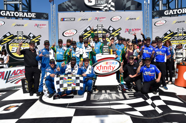 NASCAR Xfinity Series Sparks Energy 300 Talladega Superspeedway, Talladega, AL USA Saturday 6 May 2017 Aric Almirola, Fresh From Florida Ford Mustang World Copyright: Rusty Jarrett LAT Images ref: Digital Image 17TAL1rj_2624
