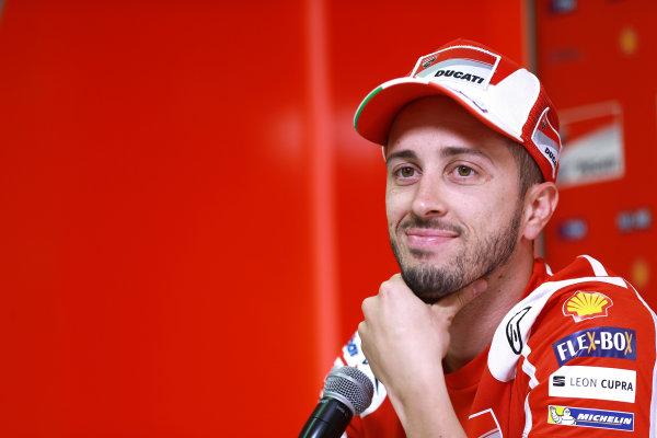 2017 MotoGP Championsip - Round 4 Jerez, Spain Thursday 4 May 2017 Andrea Dovizioso, Ducati Team World Copyright: Gold & Goose Photography/LAT Images ref: Digital Image 667542