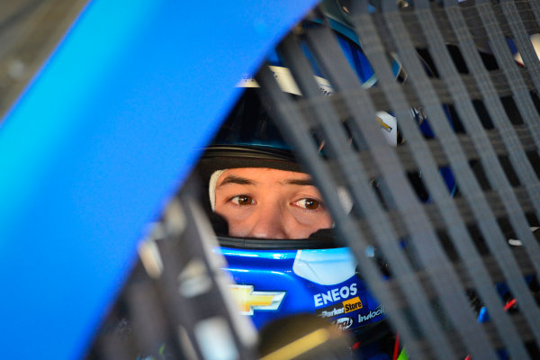 2017 Monster Energy NASCAR Cup Series O'Reilly Auto Parts 500 Texas Motor Speedway, Fort Worth, TX USA Friday 7 April 2017 Kyle Larson World Copyright: Logan Whitton/LAT Images ref: Digital Image 17TEX1LW0114