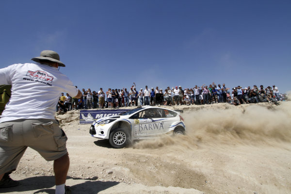 Round 04 Rally Jordan. 14th-16th April 2011.Nasser Al-Attiyah, Ford WRC, Action.Worldwide Copyright: McKlein/LAT