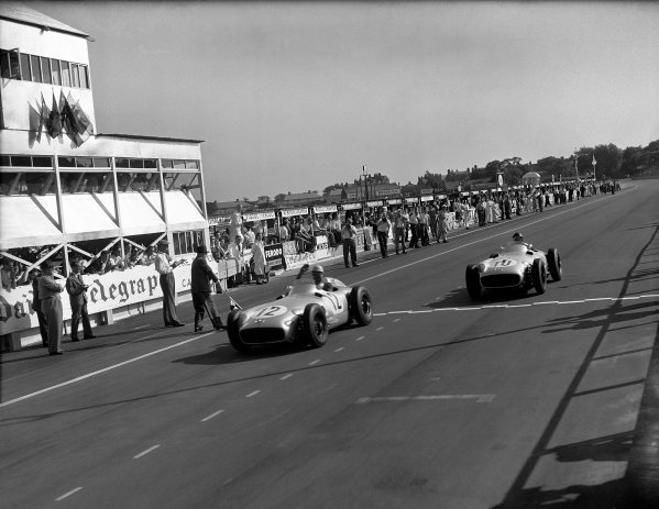 Aintree, England. 14 - 16 July 1955.