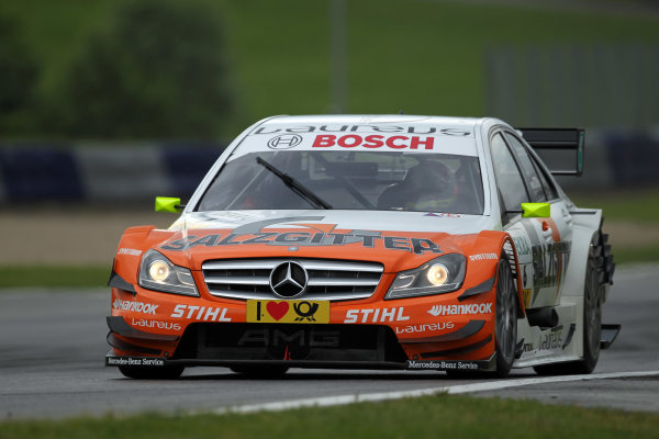 Ralf Schumacher (GER), Salzgitter AMG Mercedes.DTM, Rd3, Red Bull Ring, Spielberg, Austria. 3-5 June 2011.World Copyright: LAT Photographicref: Digital Image dne1103ju28