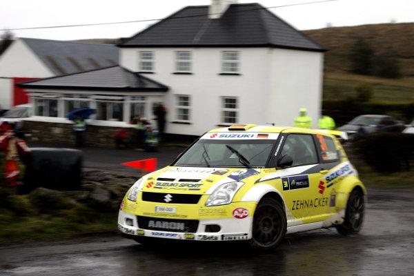 Round 1, Rally Ireland, 29th Jan - 1st Feb 2009, Aaron Burkhart, Suzuki, Action, Worldwide Copyright: McKlein/LAT
