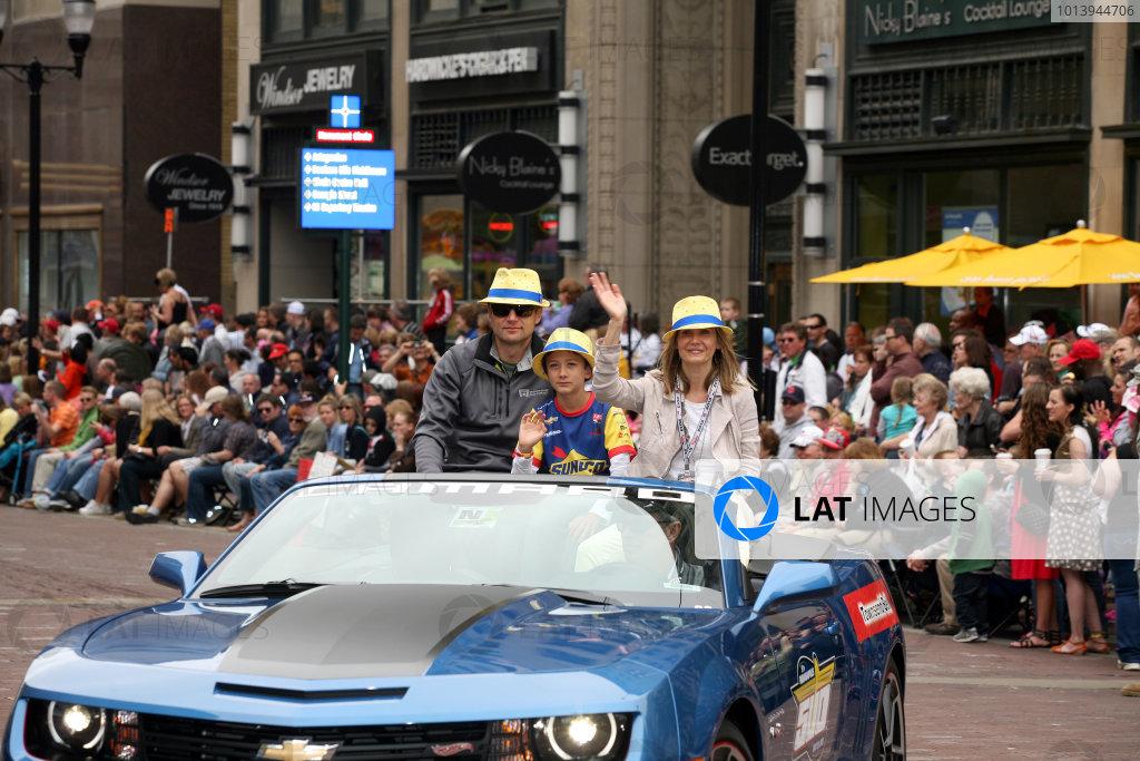 Justin Wilson Indycar Family