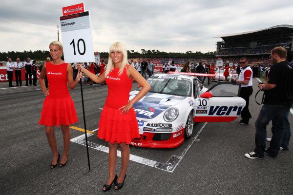 Kuba Giermaziak (POL) Verva Racing Team. Porsche Supercup, Rd 6, Hockenheim, Germany, 23-25 July 2010.