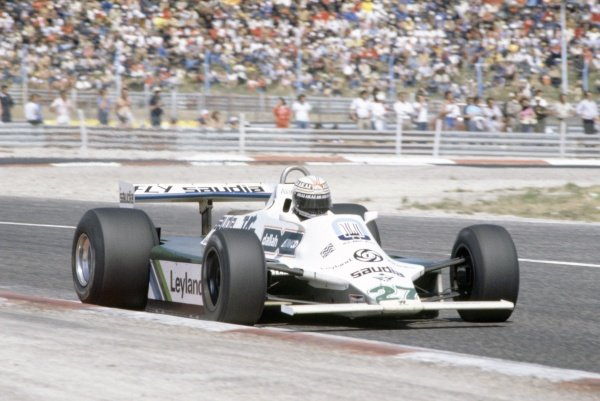 1980 French Grand Prix.Paul Ricard, France. 27-29 June 1980.Alan Jones (Williams FW07B-Ford Cosworth), 1st position.World Copyright: LAT PhotographicRef: 35mm transparency 80FRA02