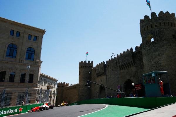 Baku City Circuit, Baku, Azerbaijan. Saturday 24 June 2017. Nyck De Vries (NED, Rapax)  World Copyright: Hone/LAT Images ref: Digital Image _ONY9721