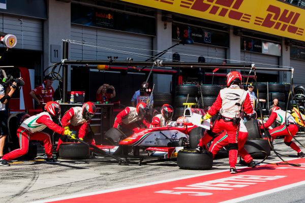 2017 FIA Formula 2 Round 5. Red Bull Ring, Spielberg, Austria. Saturday 8 July 2017. Antonio Fuoco (ITA, PREMA Racing).  Photo: Zak Mauger/FIA Formula 2. ref: Digital Image _56I3006