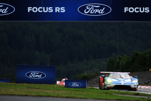 2017 World Endurance Championship, Nurburgring, Germany. 14th-16th July 2017 #67 Ford Chip Ganassi Team UK  Ford GT: Andy Priaulx, Harry Tincknell,  World copyright. JEP/LAT Images