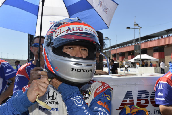 Takuma Sato (JPN) Foyt Enterprises.