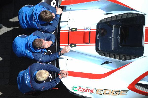 Chip Ganassi Racing Ford GT team members