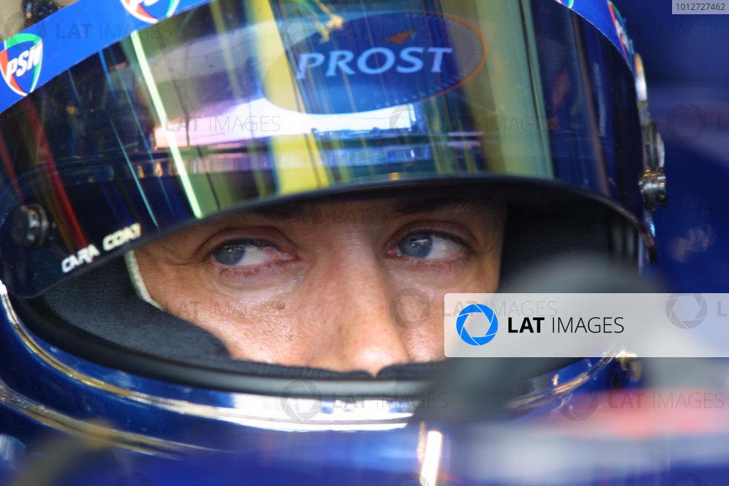 2001 San Marino Grand Prix.Imola, Italy. 13-15 April 2001.Jean Alesi (Prost Acer) 9th position.World Copyright - LAT Photographicref: 8 9 MB Digital