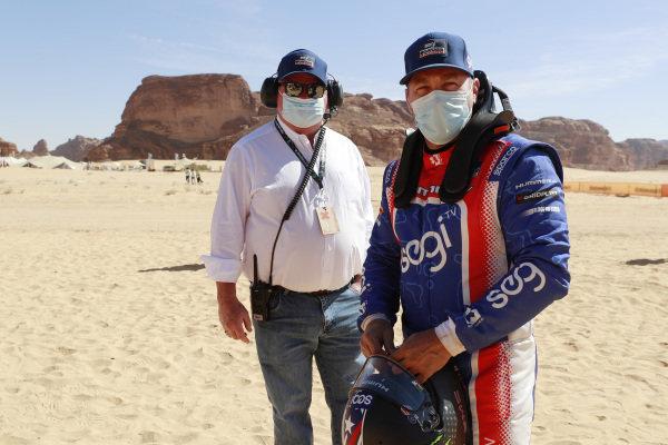 Chip Ganassi, Owner and CEO, Chip Ganassi Racing Teams, and Kyle Leduc (USA), Segi TV Chip Ganassi Racing