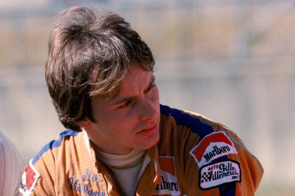 1977 Canadian Grand Prix. Mosport Park, Ontario, Canada.7-9 October 1977.Gilles Villeneuve (Ferrari).Ref-77 CAN 19.World Copyright - LAT Photographic