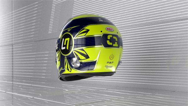 Lando Norris helmet - rear
