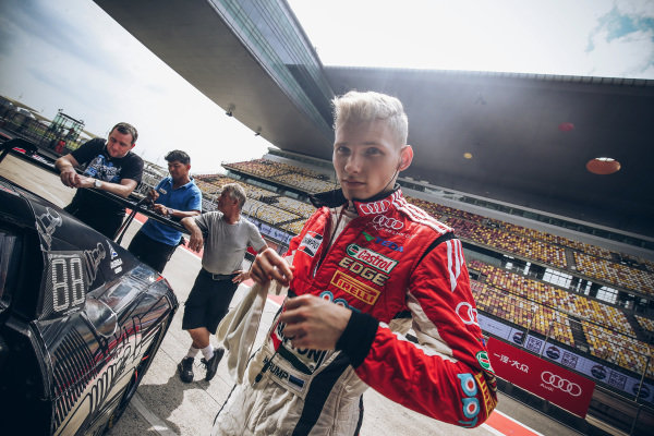 Martin Rump (EST) Champion Racing Team at Audi R8 LMS Cup, Rd7 and Rd8, Shanghai, China, 8-10 September 2017.