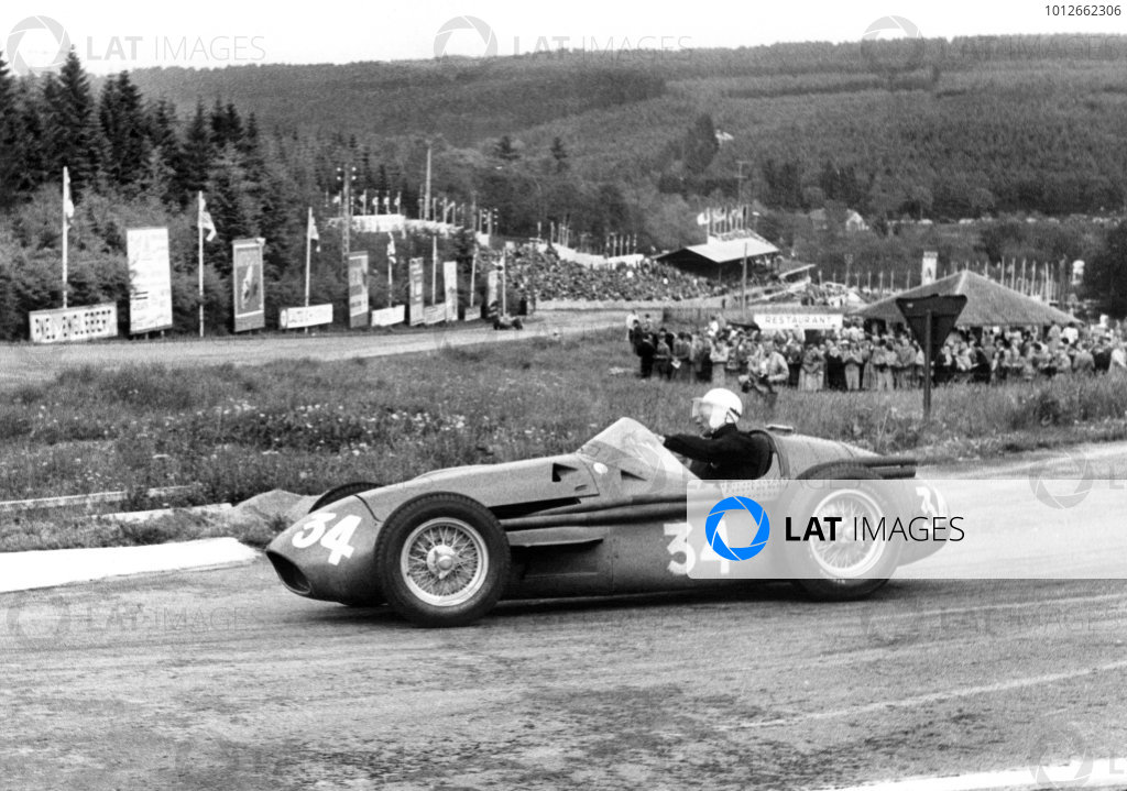 Spa-Francorchamps, Belgium. 3rd June 1956.