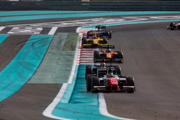 2017 FIA Formula 2 Round 11. Yas Marina Circuit, Abu Dhabi, United Arab Emirates. Sunday 26 November 2017. Sergio Sette Camara (BRA, MP Motorsport).  Photo: Zak Mauger/FIA Formula 2. ref: Digital Image _X0W9832
