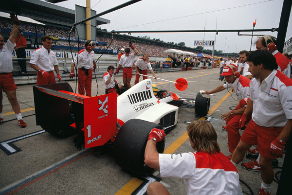 Hockenheim, Germany. 28th - 30th July 1989.