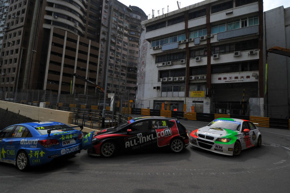 2013 World Touring Car Championship. Round 12 - Circuit de Guia, Macau, China. Sunday 17 November 2013. Race1, Marc Basseng (DEU) SEAT Leon WTCC, ALL-L COM Munnich Motorsport. World Copyright: XPB Images / LAT Photographic. ref: Digital Image PHOTO4_560317