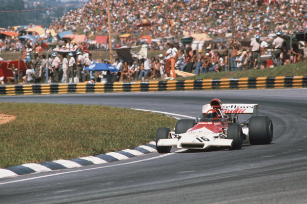 1973 Brazilian Grand Prix.  Interlagos, Sao Paulo, Brazil. 9-11th February 1973.  Niki Lauda, BRM P160C, 8th position.  Ref: 73BRA15. World Copyright: LAT Photographic