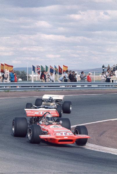 1970 Spanish Grand Prix.Jarama, Madrid, Spain.17-19 April 1970.Mario Andretti (March 701 Ford) 3rd position.Ref-70 ESP 10.World Copyright - LAT Photographic