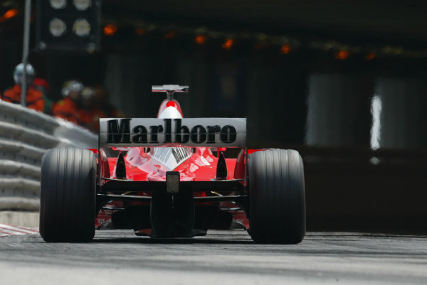 2003 Monaco Grand Prix, Sunday Race,Monte Carlo, Monaco.1st June 2003.Ferrari action.World Copyright LAt Photographic.Digital Image Only.