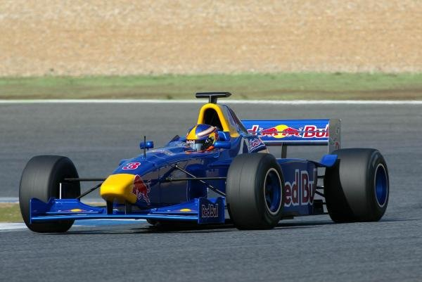 Colin Fleming (USA) tests an F3000 car.Red Bull US Driver Search, Estoril, Portugal, 12-13 October 2004.DIGITAL IMAGE