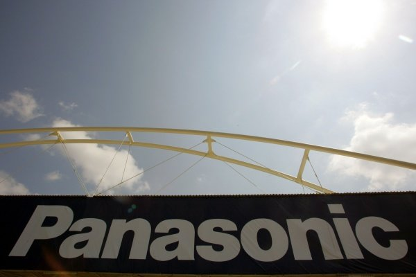 Panasonic branding.