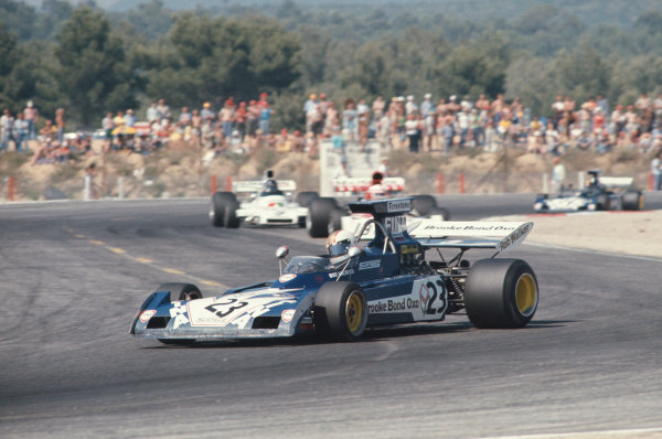 1973 French Grand Prix.  Paul Ricard, Le Castellet, France. 29th June - 1st July 1973.  Mike Hailwood, Surtees TS14A Ford.  Ref: 73FRA43. World Copyright: LAT Photographic