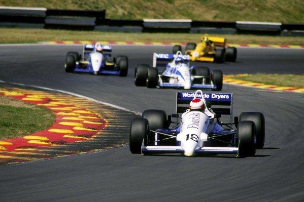 Roland Ratzenberger (AUT) Spirit Motorsport Reynard 88-D Cosworth.1989 British Formula 3000 Championship.