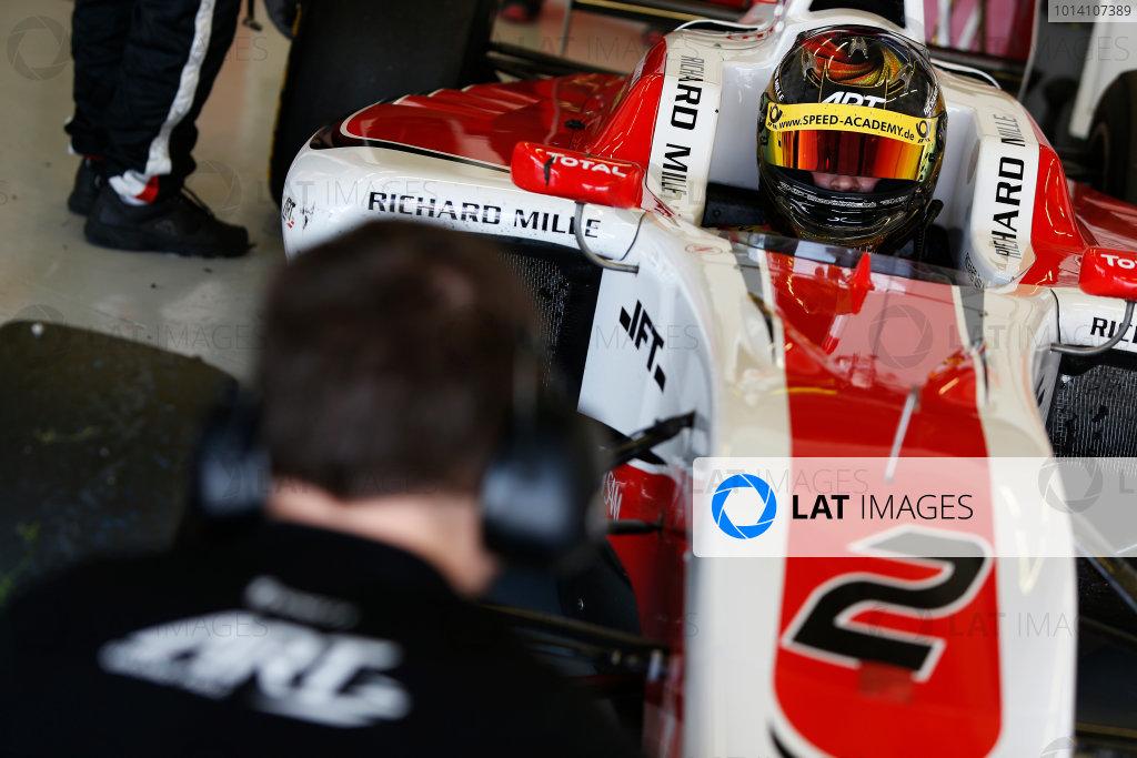 2014 GP3 Series Test 2. Jerez, Spain  Friday 11 April 2014. Marvin Kirchhofer (GER, ART Grand Prix)  Photo: Sam Bloxham/GP3 Series Media Service. ref: Digital Image _SBL1648