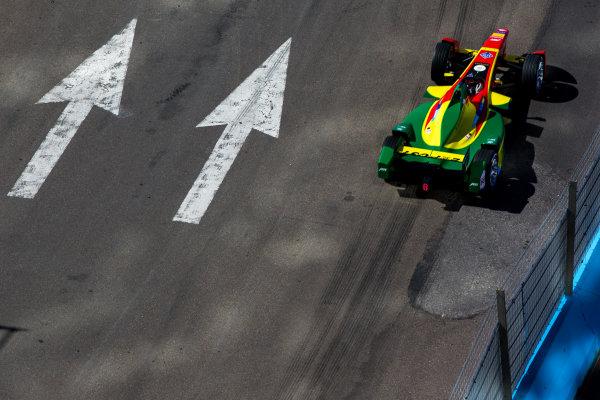 2015/2016 FIA Formula E Championship. Testing, Punta del Este, Uruguay. Sunday 20 December 2015. Daniel Abt (GER), ABT Audi Sport FE01. Photo: Zak Mauger/LAT/Formula E ref: Digital Image _L0U9338