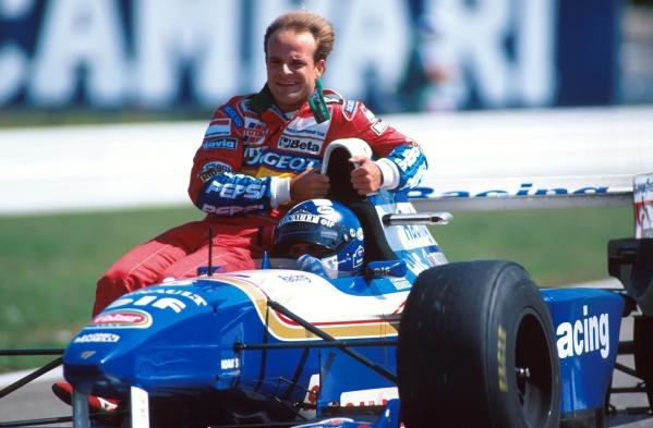 David Coulthard still managed to finish second despite carrying a weight penalty! German GP, Hockenheim, 30 July 1995
