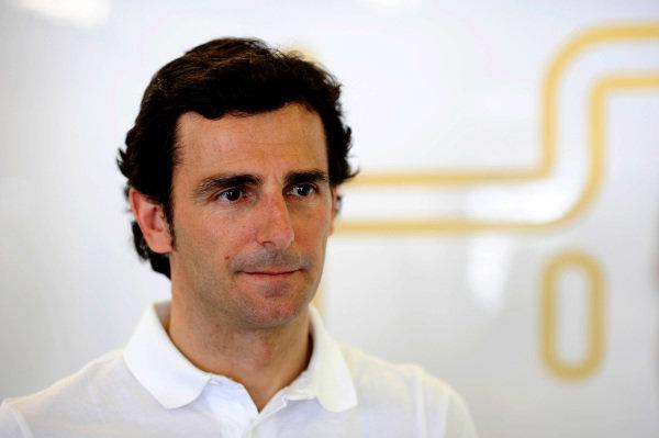 Pedro De La Rosa (ESP) HRT Formula 1 Team. Formula One World Championship, Rd1, Australian Grand Prix, Preparations, Albert Park, Melbourne, Australia, Wednesday 14 March 2012.
