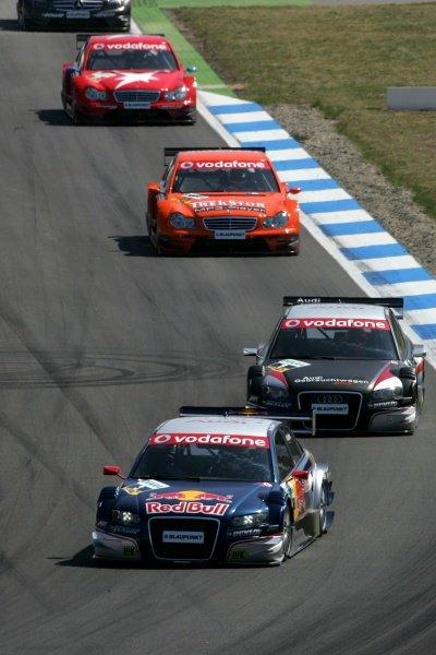 Mattias Ekstrom (SWE) Team Abt Sportsline Audi  DTM, Rd 1, Hockenheim, Germany, Sunday 22 April 2007. DIGITAL IMAGE