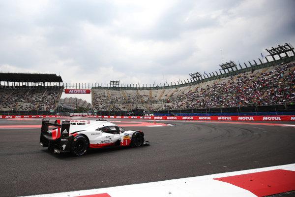 2017 World Endurance Championship, Mexico City, Mexico. 1st-3rd September 2017, #1 Porsche LMP Team Porsche 919 Hybrid: Neel Jani, Andre Lotterer, Nick Tandy  World copyright. JEP/LAT Images