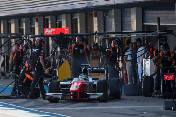 2017 FIA Formula 2 Round 10. Circuito de Jerez, Jerez, Spain. Sunday 8 October 2017. Sergio Sette Camara (BRA, MP Motorsport).  Photo: Zak Mauger/FIA Formula 2. ref: Digital Image _56I7824