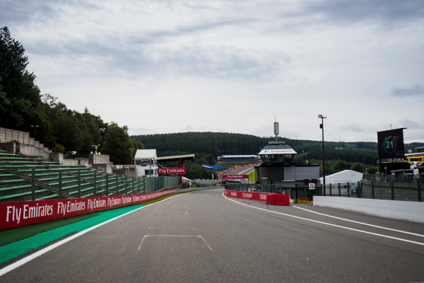 2017 FIA Formula 2 Round 8. Spa-Francorchamps, Spa, Belgium. Thursday 24 August 2017. A view of the track. Photo: Zak Mauger/FIA Formula 2. ref: Digital Image _54I9482