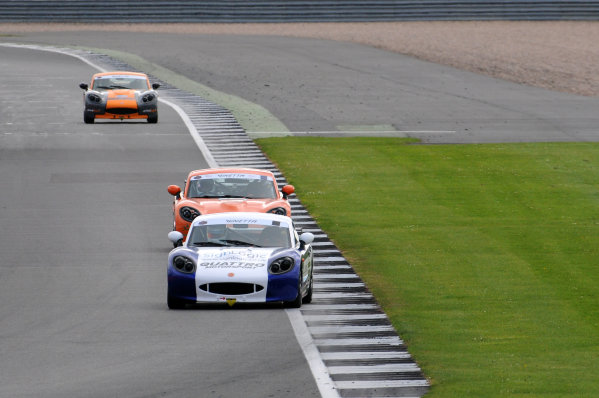 2017 Ginetta Racing Drivers Club, Silverstone, 11th-12th June 2017, Tom Golding Ginetta G40. World copyright. JEP/LAT Images