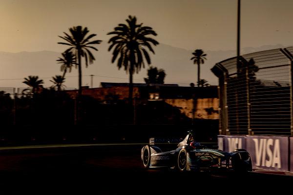 2016/2017 FIA Formula E Championship. Marrakesh ePrix, Circuit International Automobile Moulay El Hassan, Marrakesh, Morocco. Saturday 12 November 2016. Mitch Evans (NZL), Jaguar Racing, Spark-Jaguar, Jaguar I-Type 1.  Photo: Zak Mauger/LAT/Formula E ref: Digital Image _X0W5452