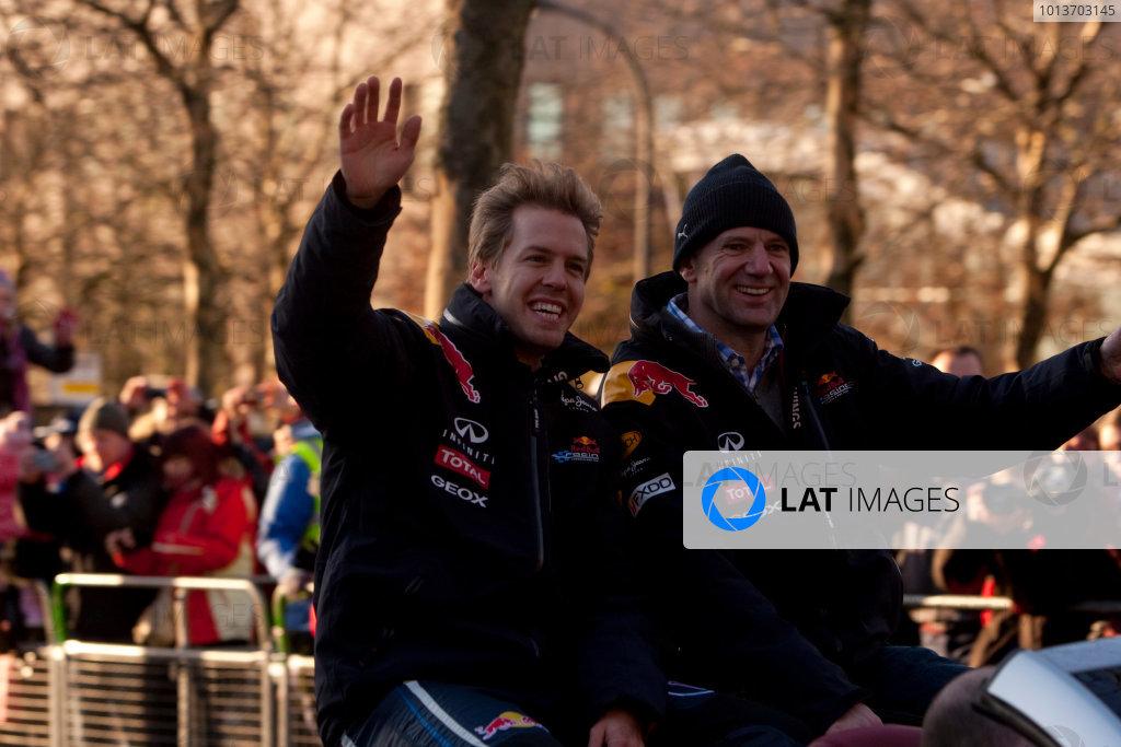 Red Bull Racing Show Run.