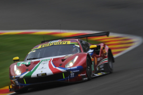 #71 AF Corse Ferrari 488 GTE EVO: Davide Rigon, Sam Bird