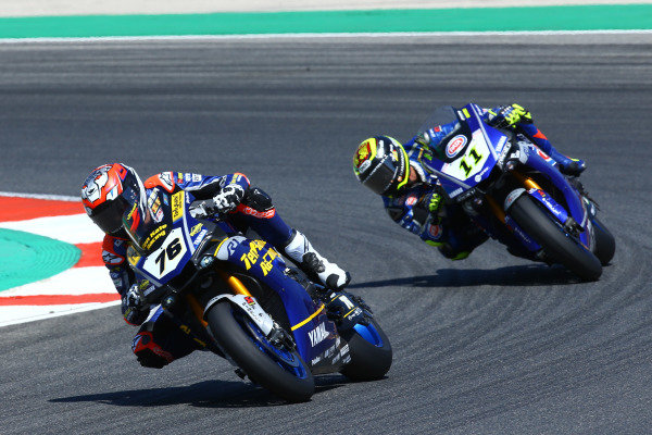 Loris Baz, Althea Racing, Sandro Cortese, GRT Yamaha WorldSBK.